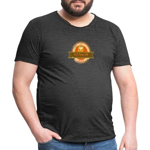 hjarne har brug for hjlp 123 - Herre vintage T-shirt