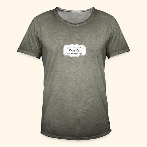 Verdens sødeste kæreste - Herre vintage T-shirt