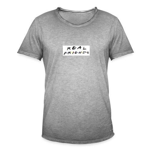 Real freinds - Herre vintage T-shirt