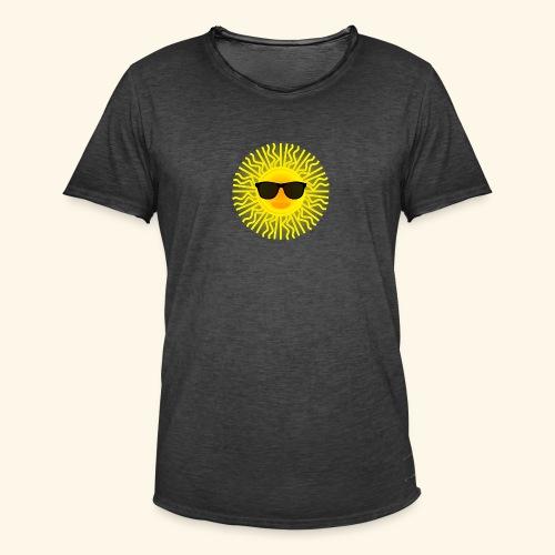 Sol de Canarias - Camiseta vintage hombre