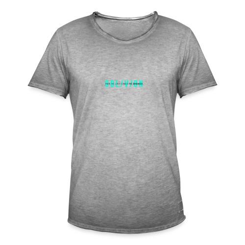 OBL/V/ON white - Maglietta vintage da uomo