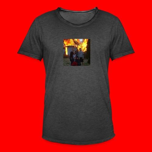 FAMILY - Koszulka męska vintage