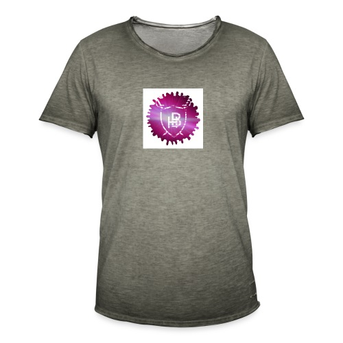 Hustler Brand - T-shirt vintage Homme