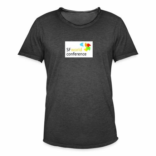 SFworldconference T-Shirts - Männer Vintage T-Shirt