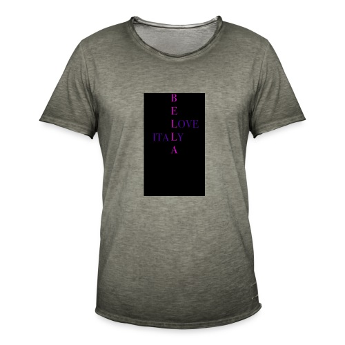 italy - Männer Vintage T-Shirt