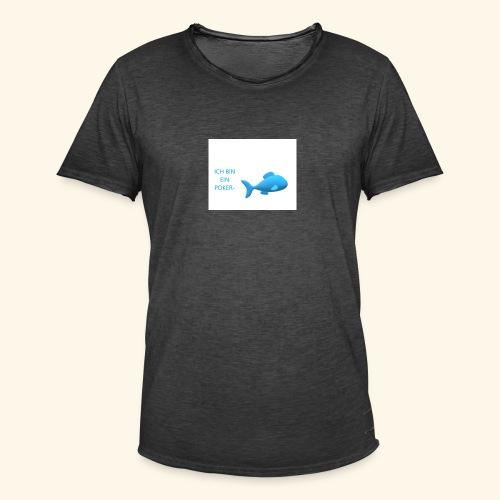 pokerfisch - Männer Vintage T-Shirt