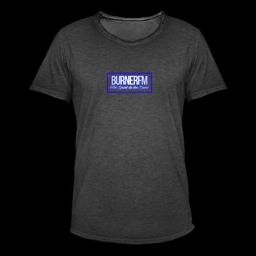 BurnerFM Hier Sürst du den Sound - Männer Vintage T-Shirt