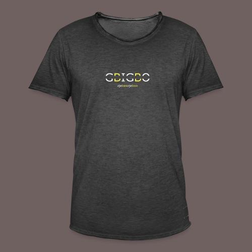 GBIGBO zjebeezjeboo - Retour à l'essentiel - T-shirt vintage Homme