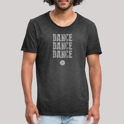dancedancedance_grey - Maglietta vintage da uomo