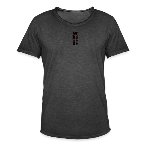 NEWWWORLD 22 - T-shirt vintage Homme