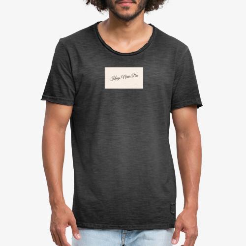 Kings Never Die - Men's Vintage T-Shirt