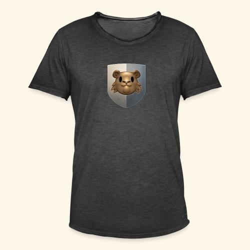 marmottes blason HD - T-shirt vintage Homme