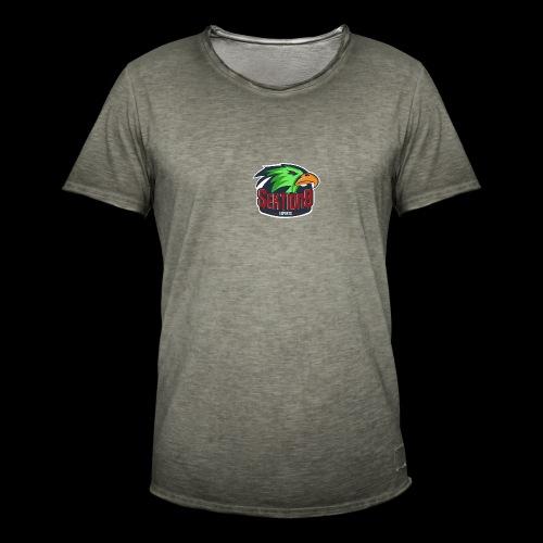 Sektion9 Logo Grün - Männer Vintage T-Shirt