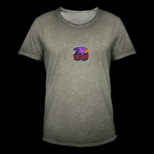 Sektion9 logo lila - Männer Vintage T-Shirt