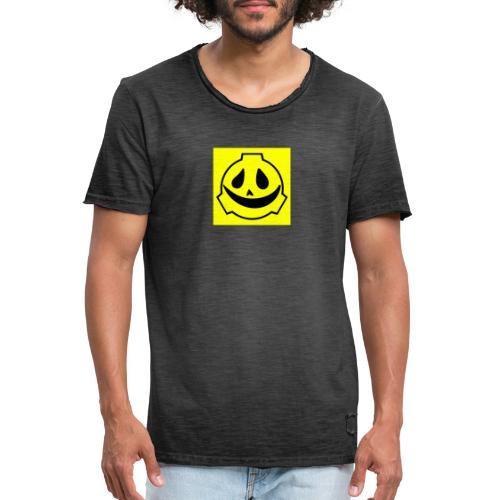 Scp project friendly merchandising - Maglietta vintage da uomo