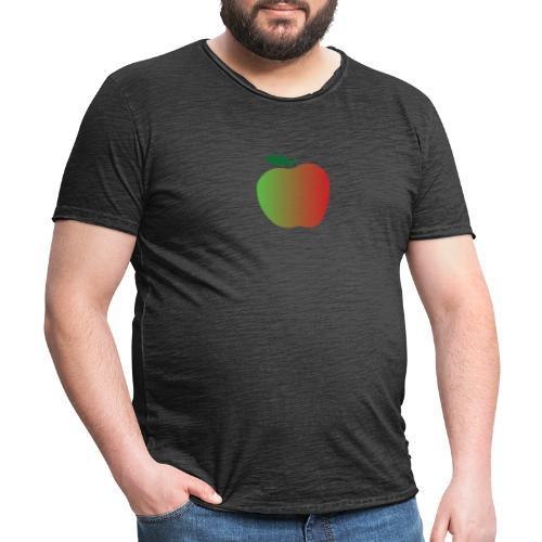 apple - Camiseta vintage hombre