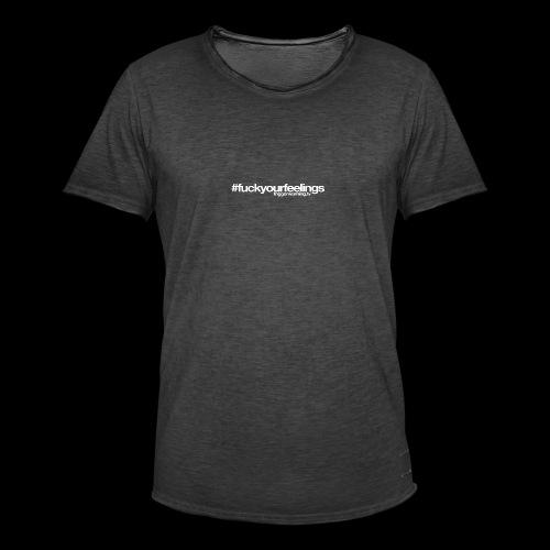 Trigger Warning Motto! - Men's Vintage T-Shirt