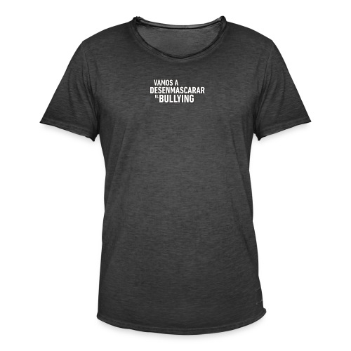 bullying not - Camiseta vintage hombre