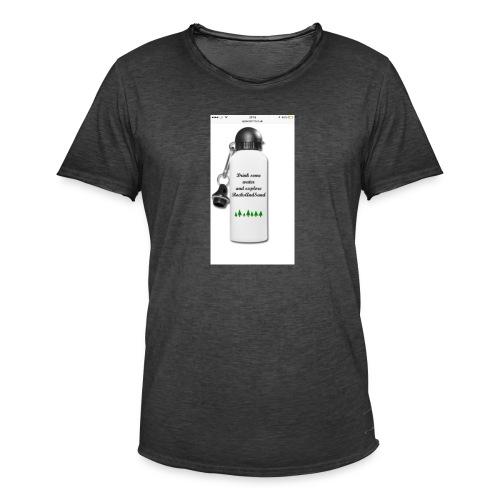 RocksAndSand adventure bottle - Men's Vintage T-Shirt