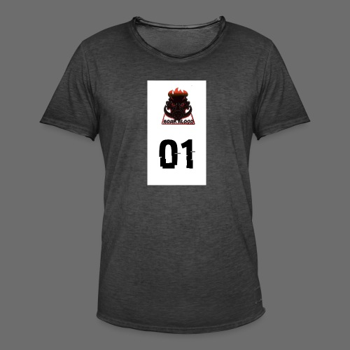 Boar blood 01 - Koszulka męska vintage