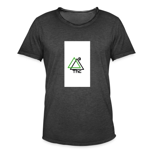 Delta 9 Thc Δ9-THC - Camiseta vintage hombre