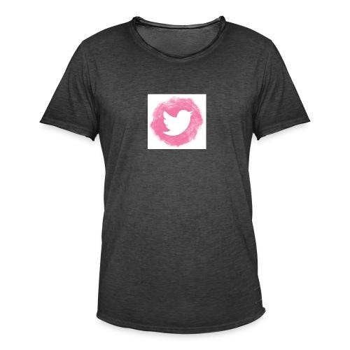 pink twitt - Men's Vintage T-Shirt