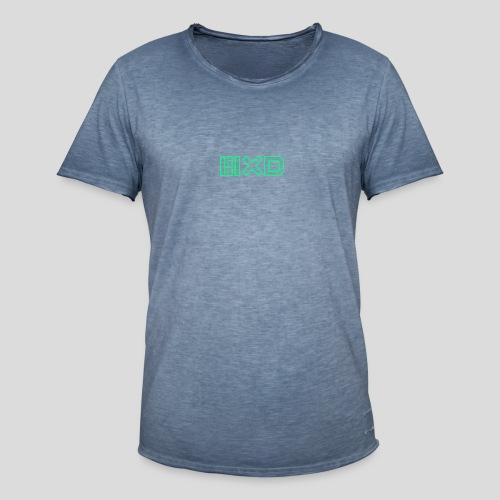 MXDMINTOUTLINE - Men's Vintage T-Shirt