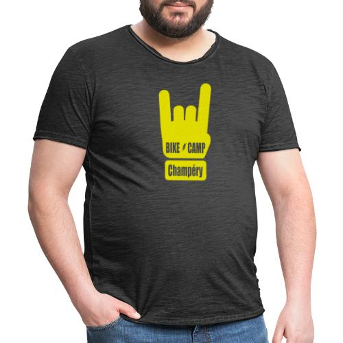 Bike Camp - Champéry - T-shirt vintage Homme