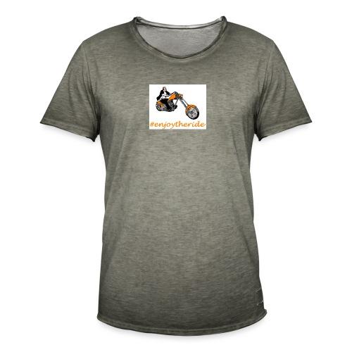 enjoytheride - T-shirt vintage Homme
