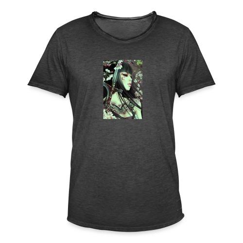 Kämpferin - Männer Vintage T-Shirt