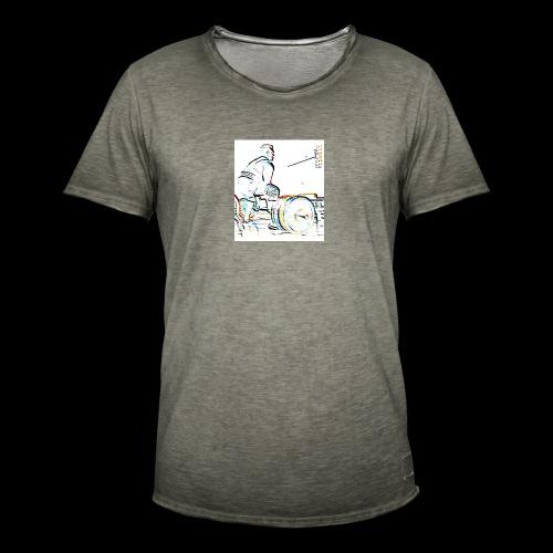 Deadlift - Miesten vintage t-paita