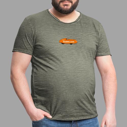 Saukki.com - Miesten vintage t-paita