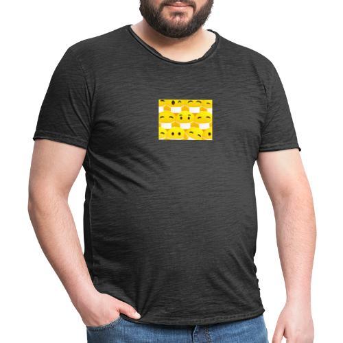 COVID19-maske - Männer Vintage T-Shirt