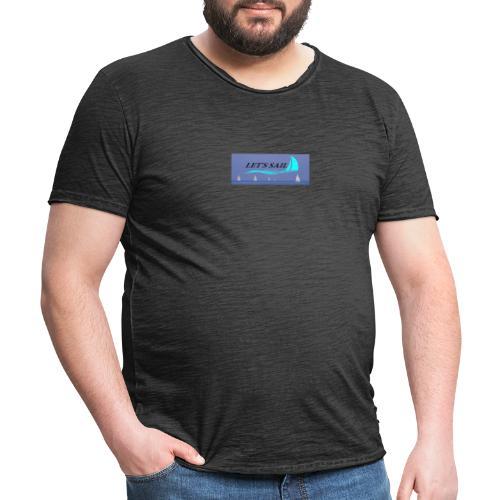 LES T SAIL - Camiseta vintage hombre