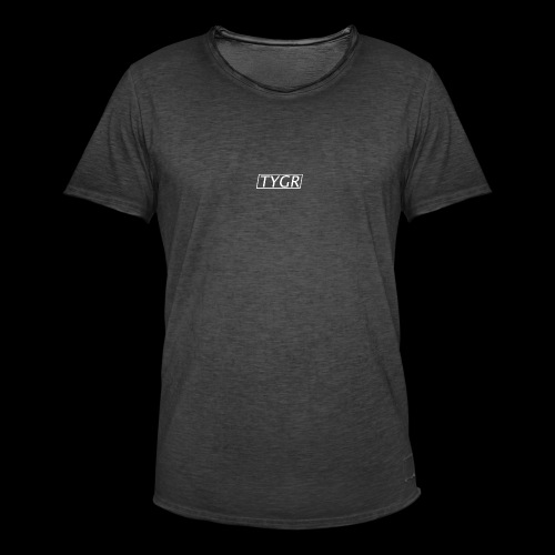 TYGR Box Design - Men's Vintage T-Shirt