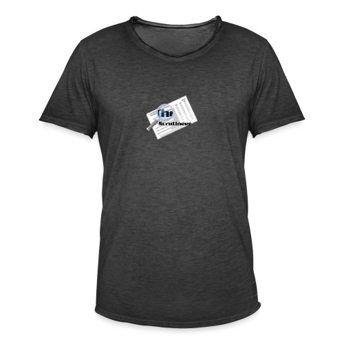 The scrutineer logo - Men's Vintage T-Shirt