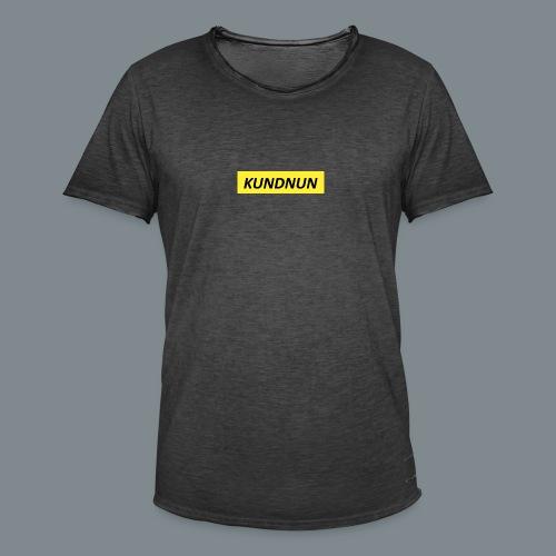 Kundnun official - Mannen Vintage T-shirt