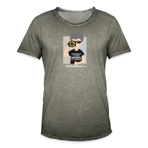Giulia Adami - Maglietta vintage da uomo
