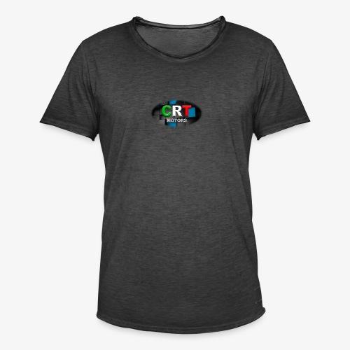 CRT Logo - Men's Vintage T-Shirt