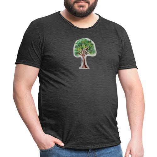 Tree nature amazon - Camiseta vintage hombre