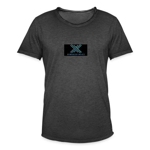 xfreezem4xz design - Männer Vintage T-Shirt