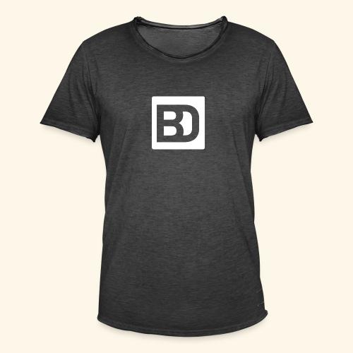 Black Damn White Curve - Männer Vintage T-Shirt