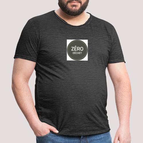 Logo Zéro Déchet - T-shirt vintage Homme