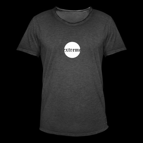 extrem white - Men's Vintage T-Shirt