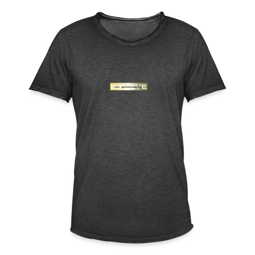 believe in yourself 3 - Männer Vintage T-Shirt