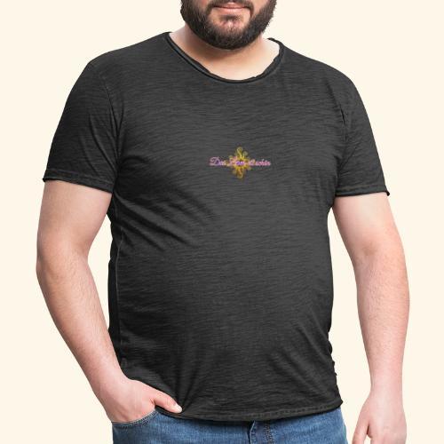 Das Leben ist schön 🌞 - Männer Vintage T-Shirt