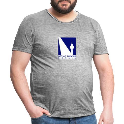 Instant Theater Berlin logo - Men's Vintage T-Shirt