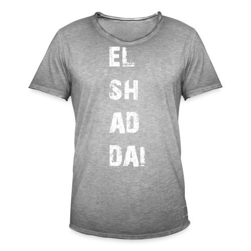 EL SH AD DAI 2 - Männer Vintage T-Shirt