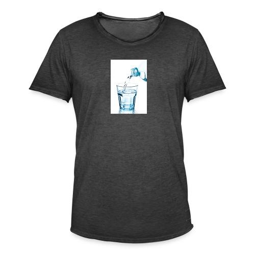 Glas-water-jpg - Mannen Vintage T-shirt