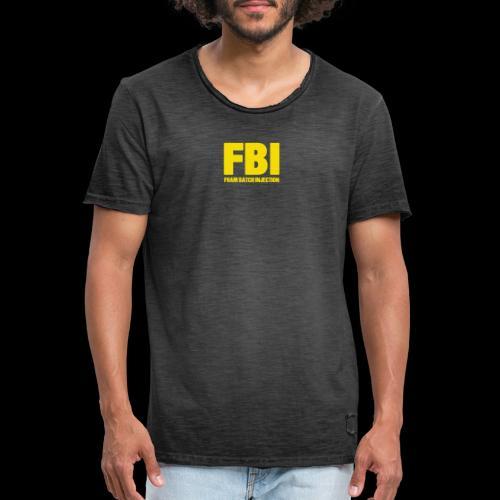 FBI - T-shirt vintage Homme